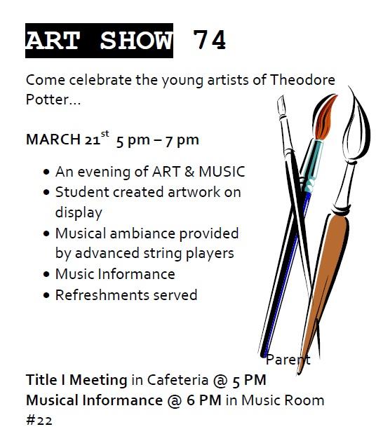 74 art show