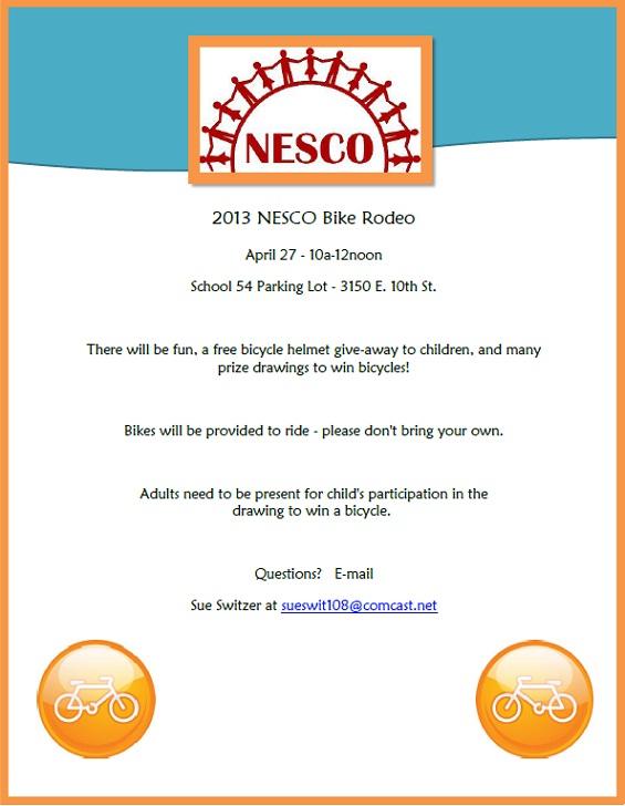2013 NESCO Bike Rodeo
