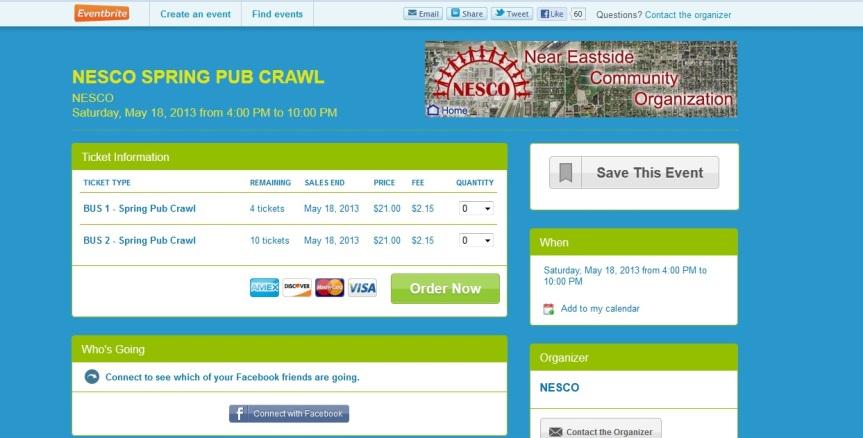 Pub Crawl Spring