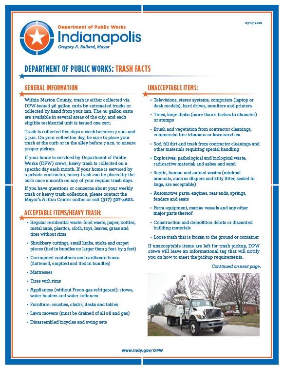 heavy trash info