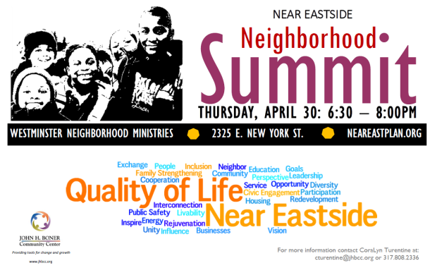 Neighbourhood Summit spring 2015
